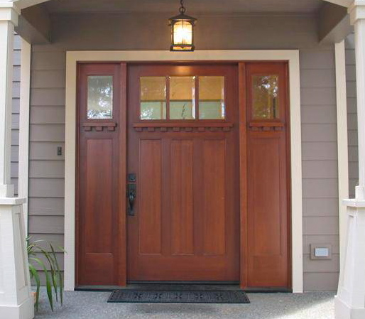 The Craftsman Door Has Become Very Popular In Recent Years, As The  Elegantly Simple Design Fits So Well With Almost Any Home. Though Its  Origin Is Not Clear ...